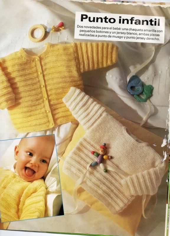 chaquetitas bebe - Patrones para realizar chaquetitas de bebés (Matilde) 2qx94ld