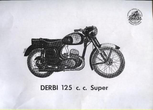 Derbi Cross 125 - 1959 * Rafbultaco 2r6l061