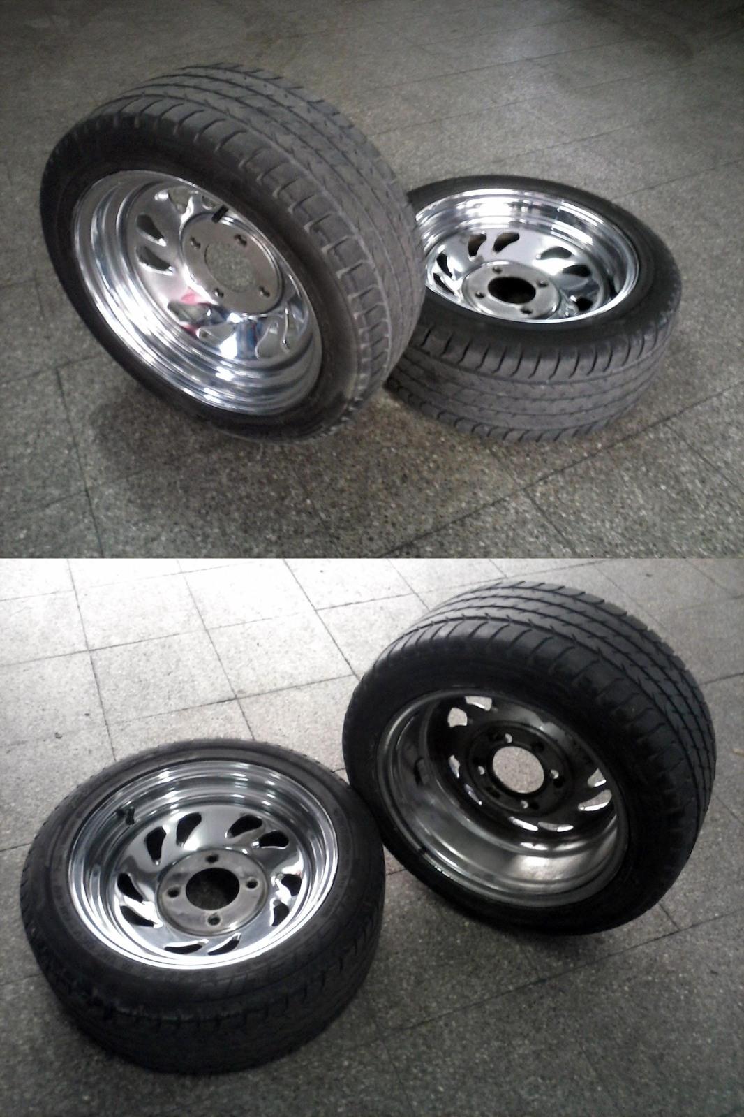 Vendo LLANTAS BUGGY VW 2s17oli