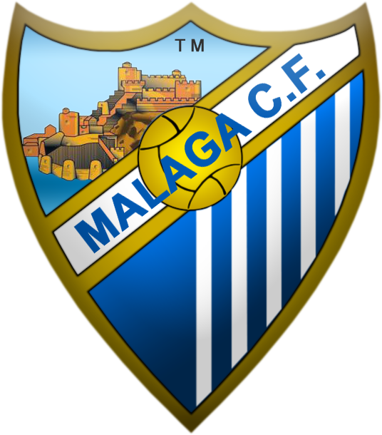 8 diseños del escudo del Malaga, formato PNG, 536px por 610px 2wdwmef