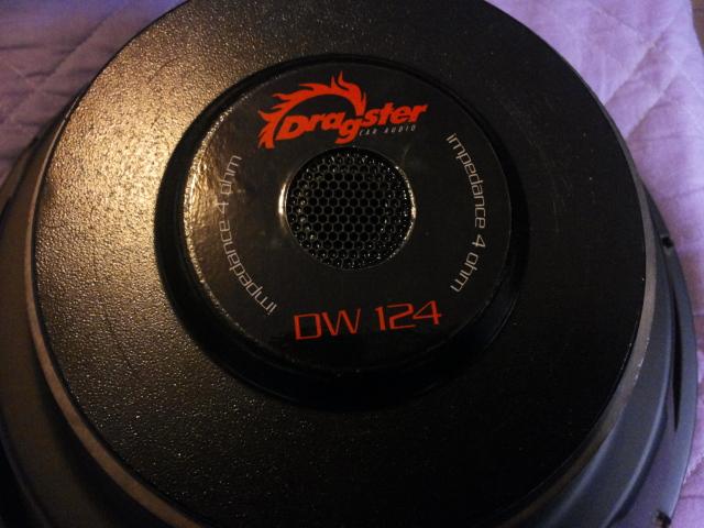 Subwoofer Dragster DW 124 2ywv8js