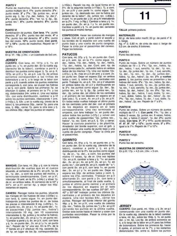 Chambritas para bebés (patrones para Cony) 33a6v54