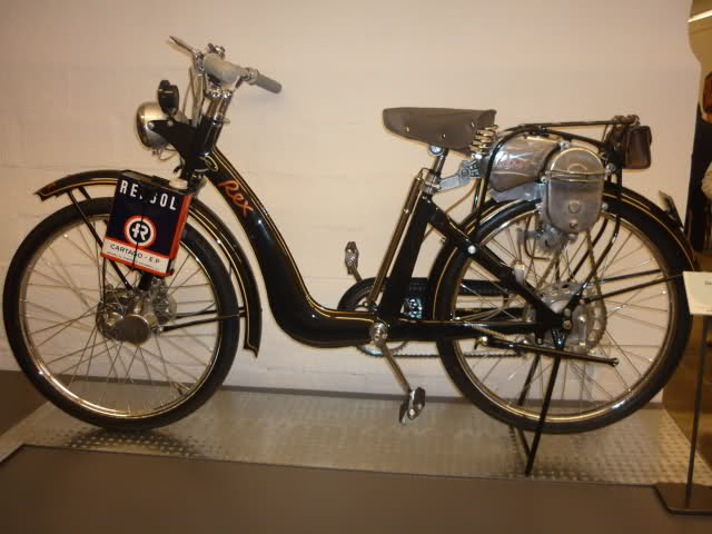Ciclomotor Rex 357f29u