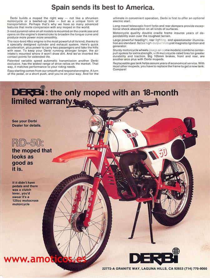 Ayuda para identificar modelo Derbi RD 35i41eg