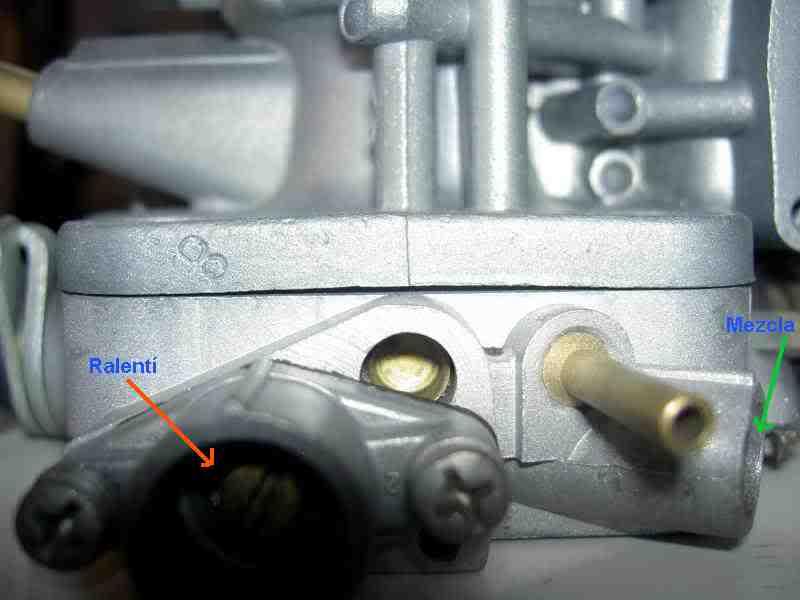 Consulta sobre el paso de bencina en carburador 5uk85d