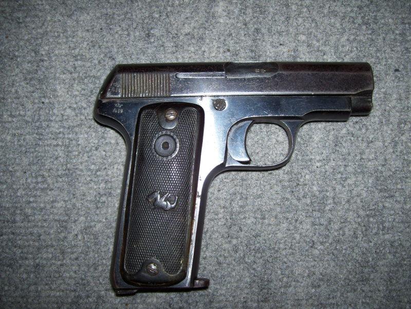 pistolet ruby sans marquage apparent 63wosl