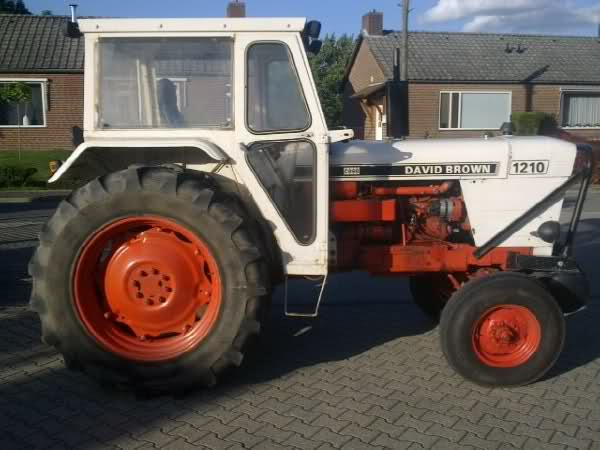 DAVID BROWN  Tractores 7293b9