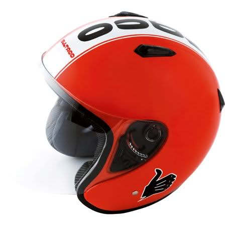 Casco clásico de Bultaco 8vs0vp