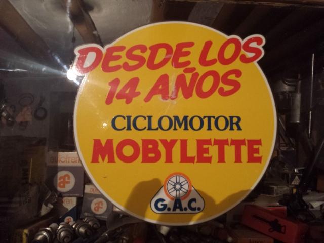 Nueva pegatina Mobylette 973dzp