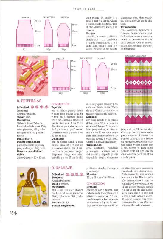Otras chaquetitas de bebés (Para otoño-invierno)(Matilde) B8liec