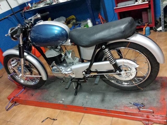 Restauración Bultaco Mercurio mod 9 Bhc6mf