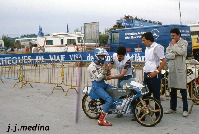 bultaco - Réplica Bultaco 50 MOTUL Carmona 1982 Fabhfr