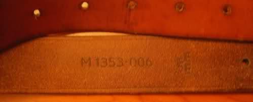 Bretelle Mauser suédois 1896 Ins9xk