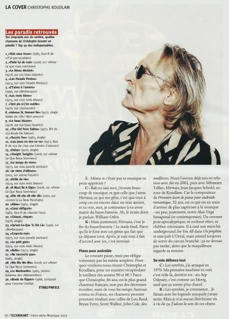 Technikart Hors série musique n°5 janvier-mars 2012 Iq989h