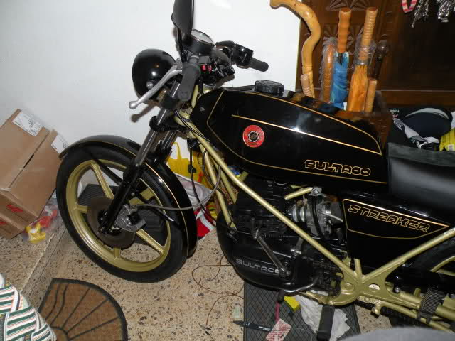 Restauración Bultaco Streaker Izbzgp