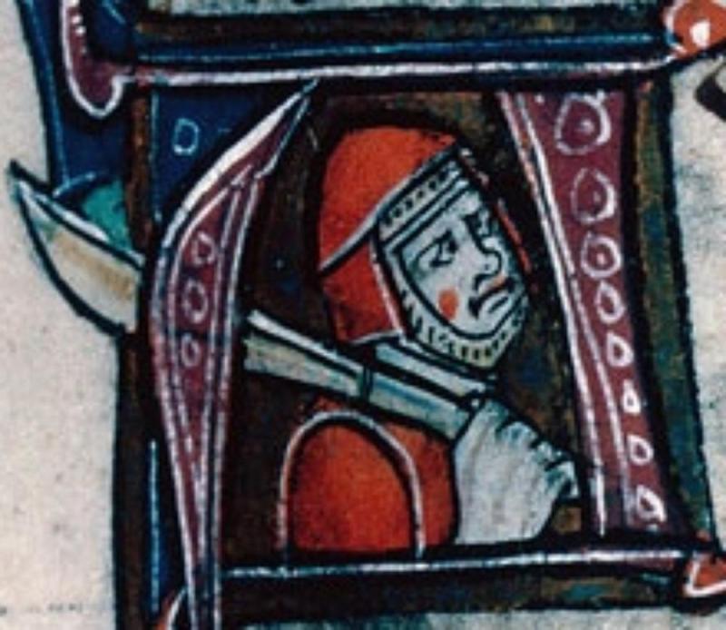 """Enrejados de """" Arras BM MS.863 Chronicle Badouin d'Aves Jr44rk"""