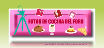 FOTOS DE RECETAS DE MUNDOCOCINITA