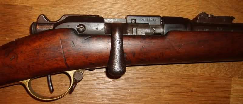 gras de cavalerie Mle 1874 M80 Or2bzs