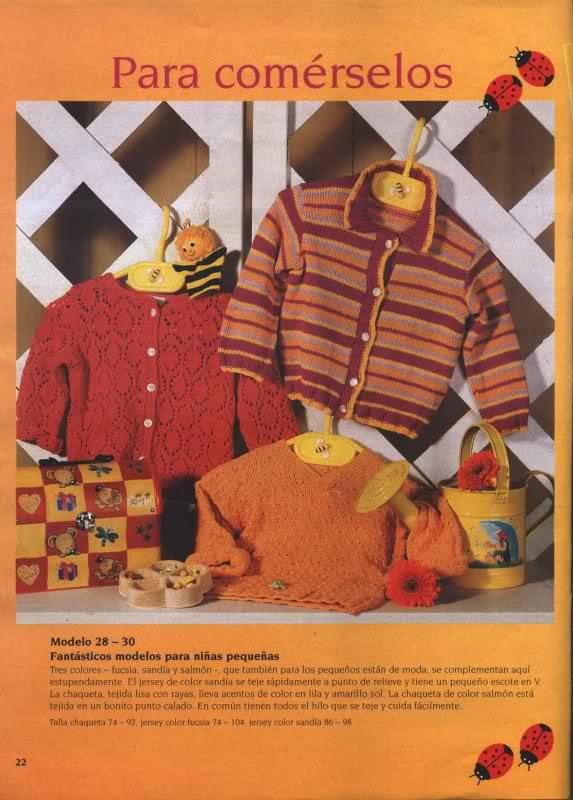 chaquetitas bebe - Patrones para realizar chaquetitas de bebés (Matilde) Qy7m38