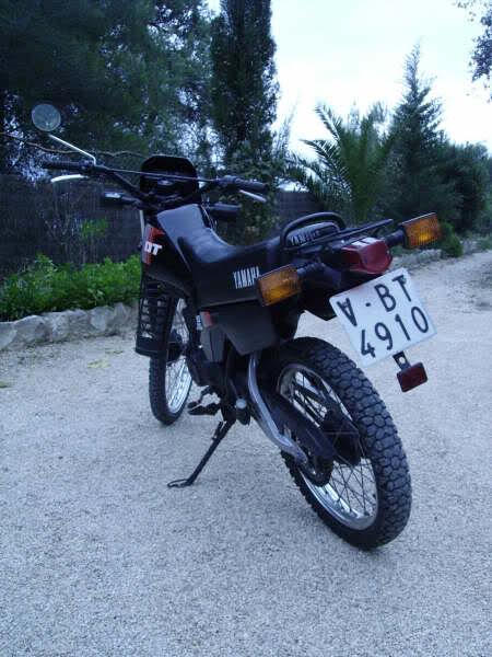 Yamaha DT 80. Rc0i2v