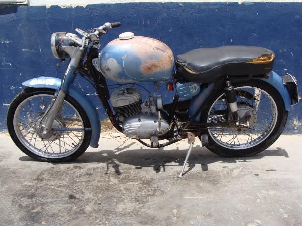 Derbi Cross 125 - 1959 * Rafbultaco Svidrt