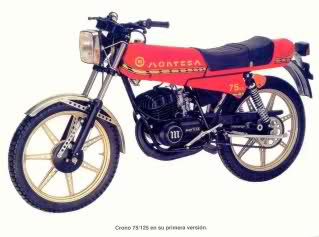 crono - Montesa Crono 75 Szws2p