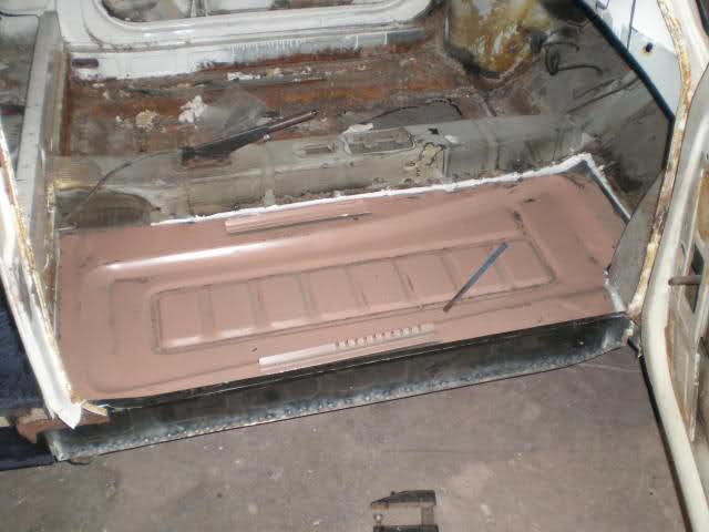 Restauración Seat 600 E 1ª serie. Vde7v9