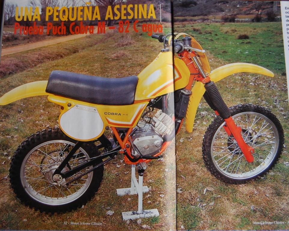 Puch Cobra M-82 C Agua - Prueba En Motociclismo Clásico W6t5s7