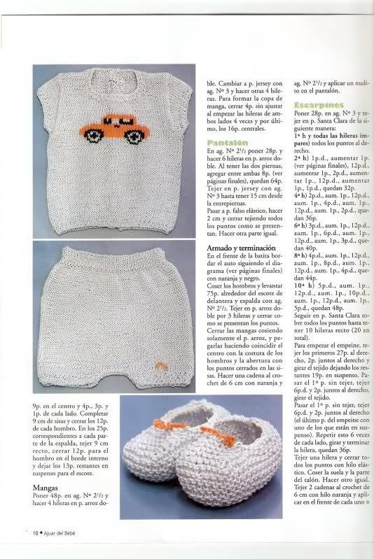 Camisetitas y bombachos para bebés para el verano (lomargo) Wi4qb5