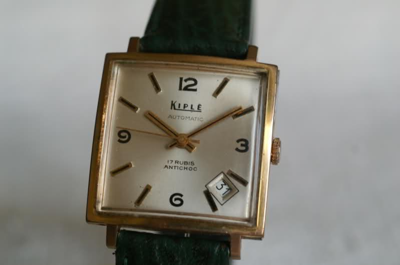 Kiplé montres vintage françaises dans l'ombre des Lip et Yema X5we8z