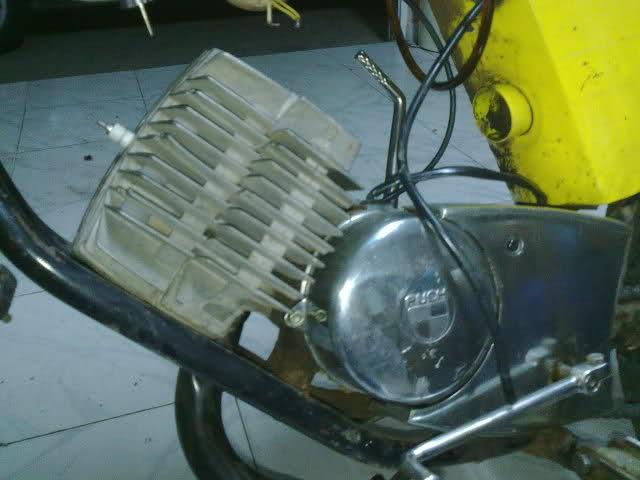 Diario restauración Puch Minicross 102kq5l