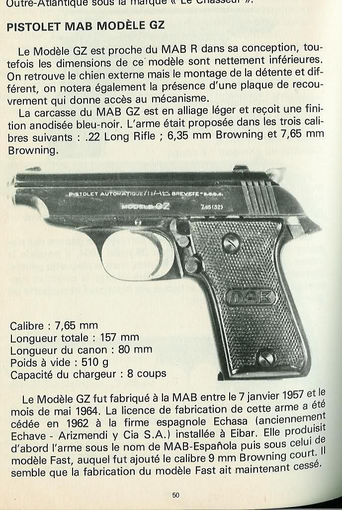 MAB Modèle G 15x6ok