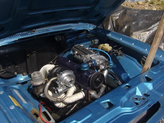 Fiechen - Ford Taunus 2.0L 8v Turbo 16awo0j