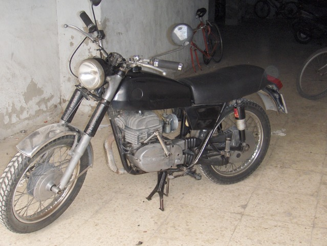 Restauración Bultaco Mercurio 175 GT 1fwf9h