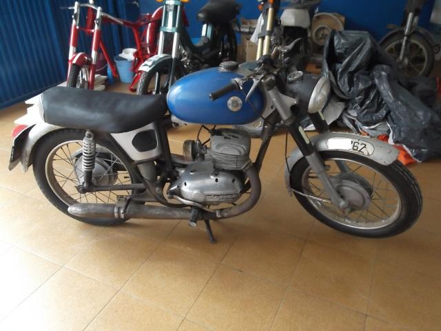 Restauración Bultaco Mercurio mod 9 2012jj4