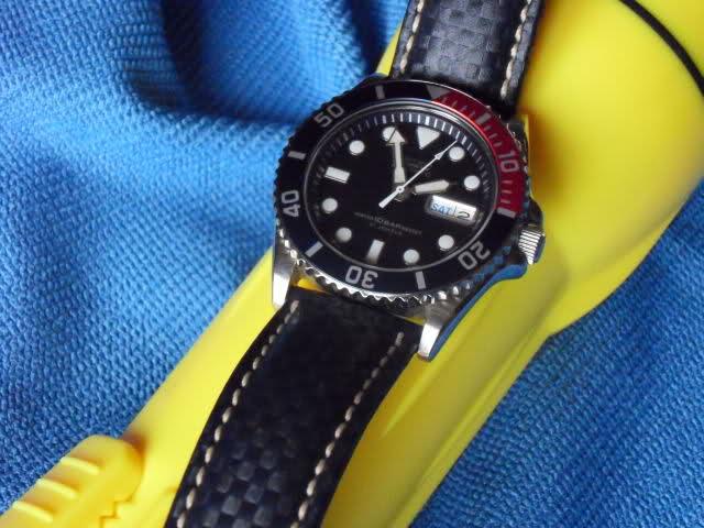 Nouveau bracelet pour la Sea shark 25gqumx
