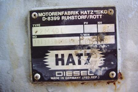 HATZ -Motores de combustión interna-  Alemania 2943nkn