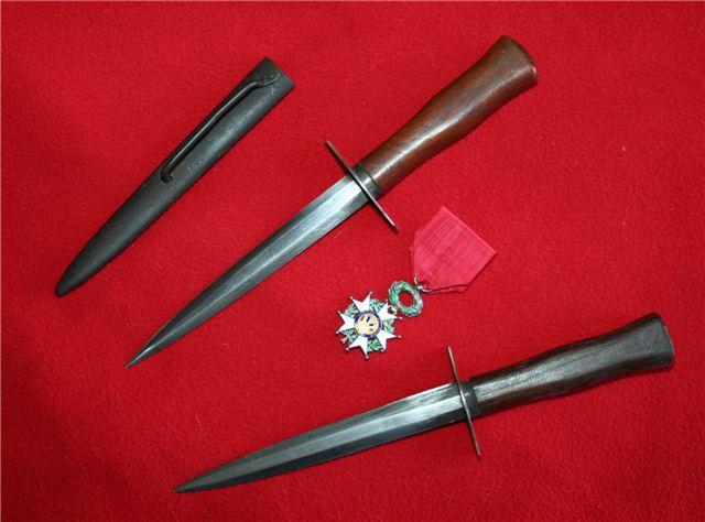 collection de lames de fabnatcyr (dague poignard couteau) 2h3n4zs