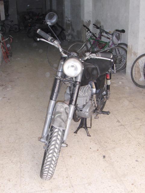 Restauración Bultaco Mercurio 175 GT 2h51dmc
