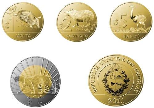 Nuevas Monedas Uruguay (2011-2012) 2psiwdv