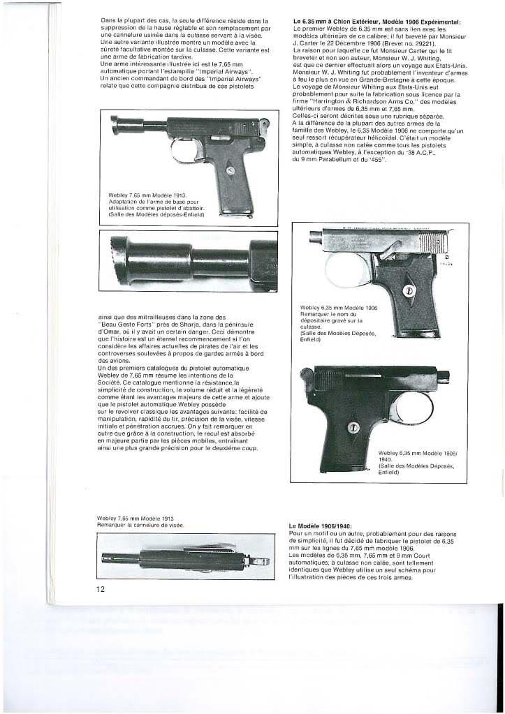 pistolets automatiques webley & scott 2r7txn8
