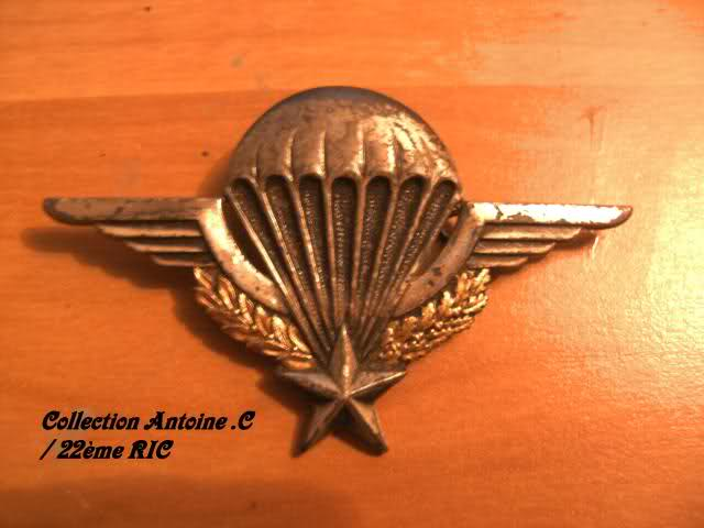 Brevet parachutiste d'un para mort dans les camps du Vietminh 1952 2z6au1h