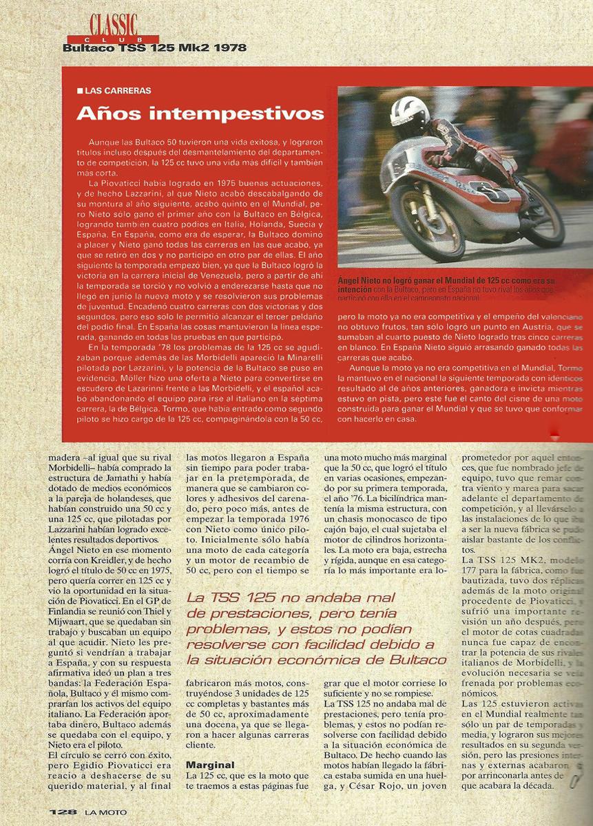 Poster R. Tormo con Bultaco TSS 125 MK2 30sgb4l