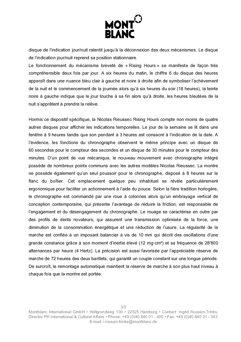 SIHH 2013 MONTBLANC Nicolas RIEUSSEC Rising Hours 345fq0l