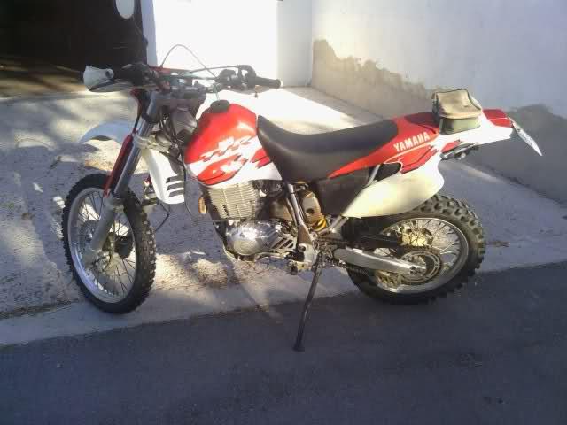 Mi nueva Yamaha TTR 600 34njdqh