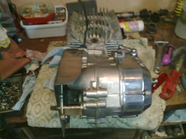 Diario restauración Puch Minicross 35lu3w4