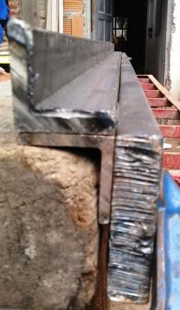 Pestañadora para chapa o láminas metálicas 4h5pj6