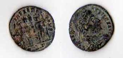 Limpieza monedas romanas 5objps
