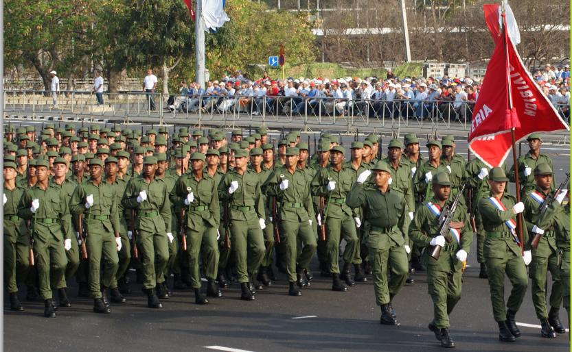 Fuerzas Armadas Revolucionarias de Cuba.  712xag