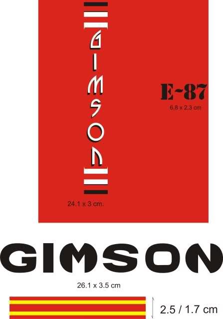 Gimson Enduro 87 2ª serie 9bde15